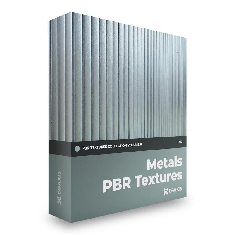 TEXTURES – CGAxis PBR Colection Vol 6 METALS