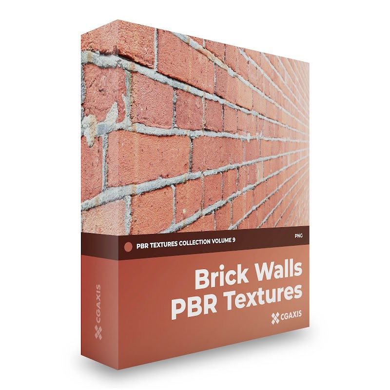 TEXTURES – CGAxis PBR Colection Vol 9 BRICK WALLS