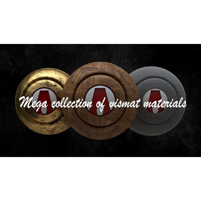 TEXTURES – Materials Vismat Para Vray Calidad 4K (5GB)