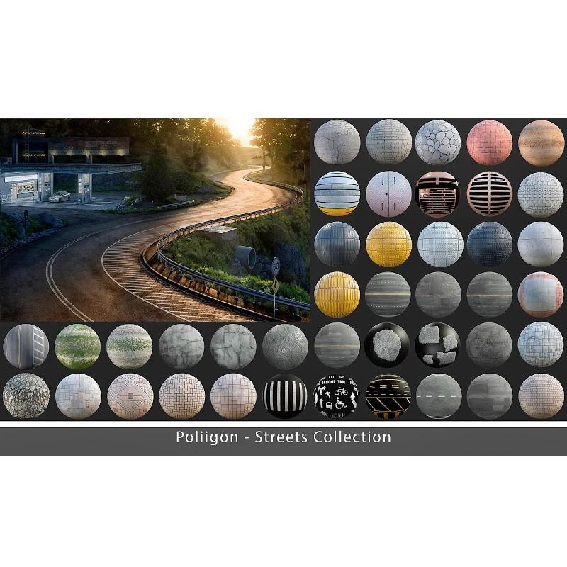 TEXTURES – Poliigon STREETS COLLECTION