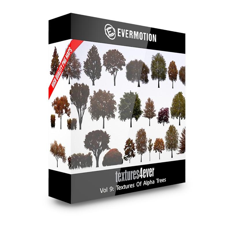 TEXTURES – Textures4ever Vol 09 – TEXTURES OF ALPHA TREES