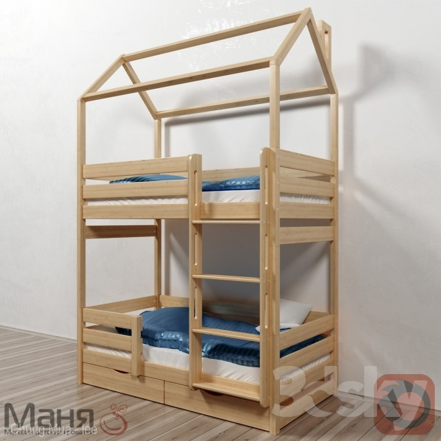 3DSKY FREE - CHILDBED MODELS