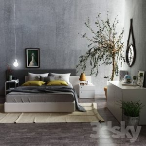 01 - FURNITURE - BED 160 (3)