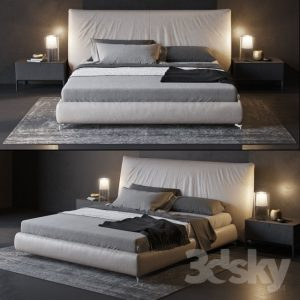 01 - FURNITURE - BED 160 (5)
