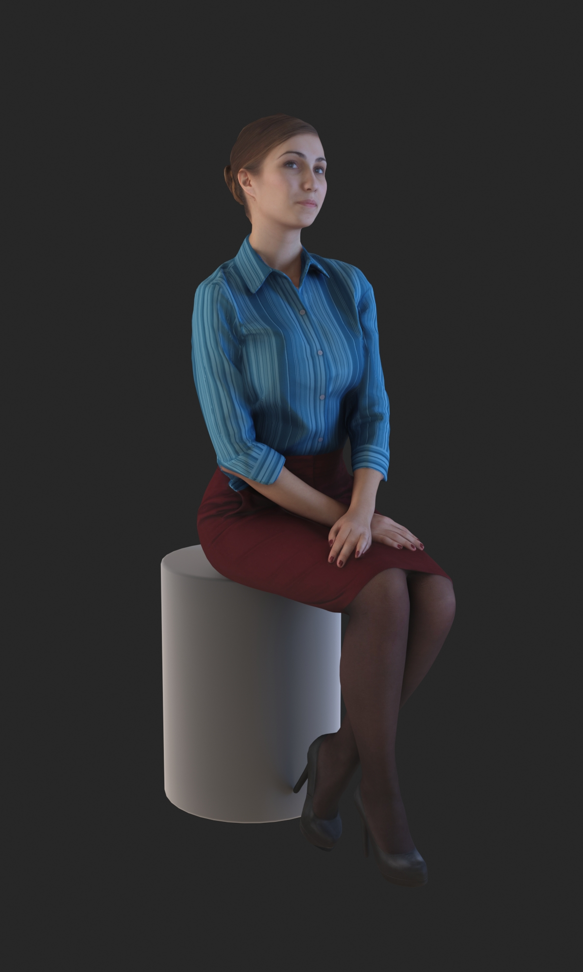 3DSKY FREE – HUMAN 3D – POSED PEOPLE – No.013