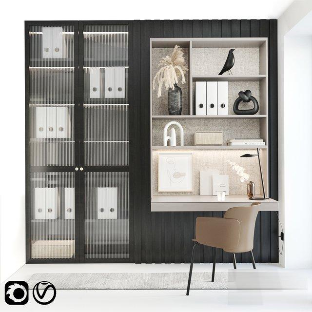 RANDOM MODELS – PRO MODELS 401 – OFFICE SET 3D MODEL