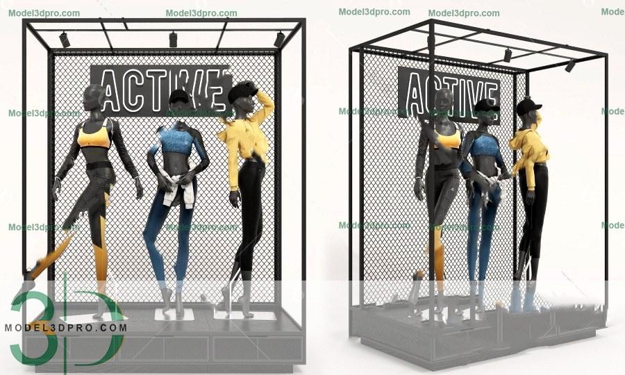 RANDOM MODELS – PRO MODELS 403 – MANOCANH 3D MODEL