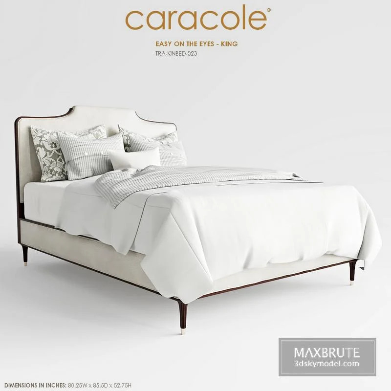 RANDOM MODELS – PRO MODELS 408 – BED 3D MODEL