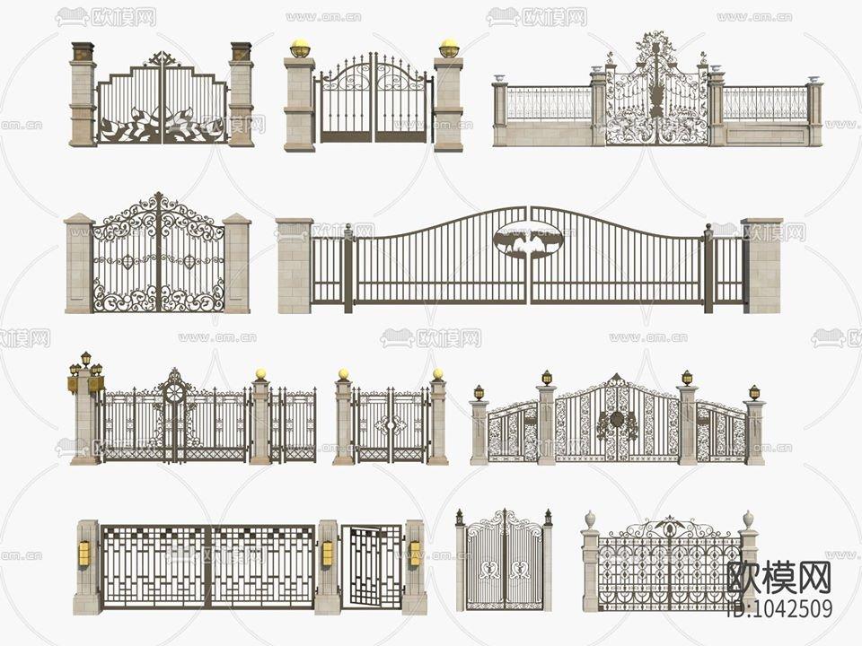 RANDOM MODELS – PRO MODELS 420 – GATE 3D MODELS