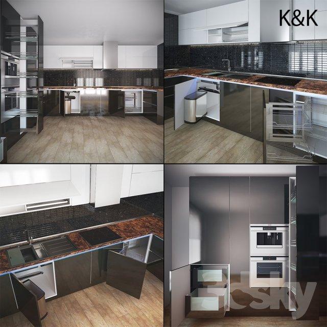 RANDOM MODELS – PRO MODELS 414 – KITCHEN 3D MODELS