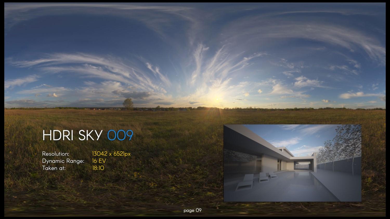 HDRI – SKY – 009