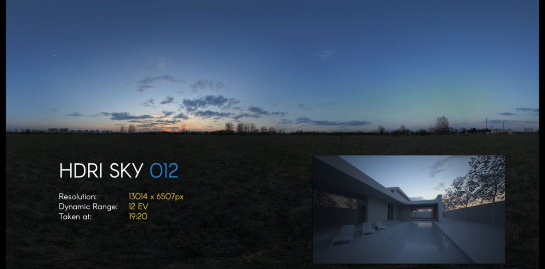 HDRI – SKY – 012
