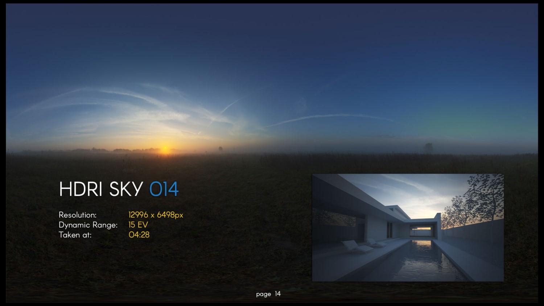 HDRI – SKY – 014