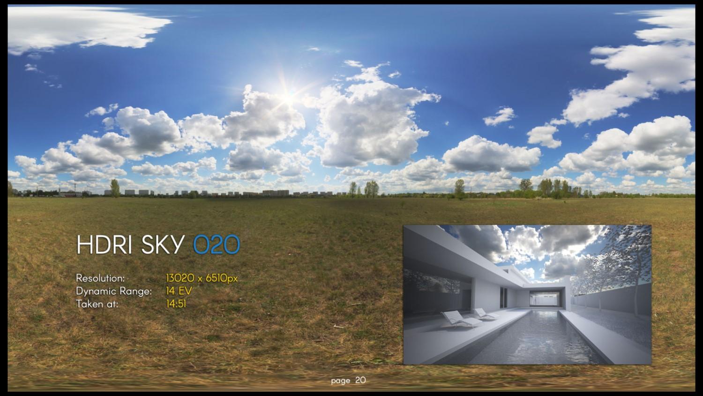HDRI – SKY – 020